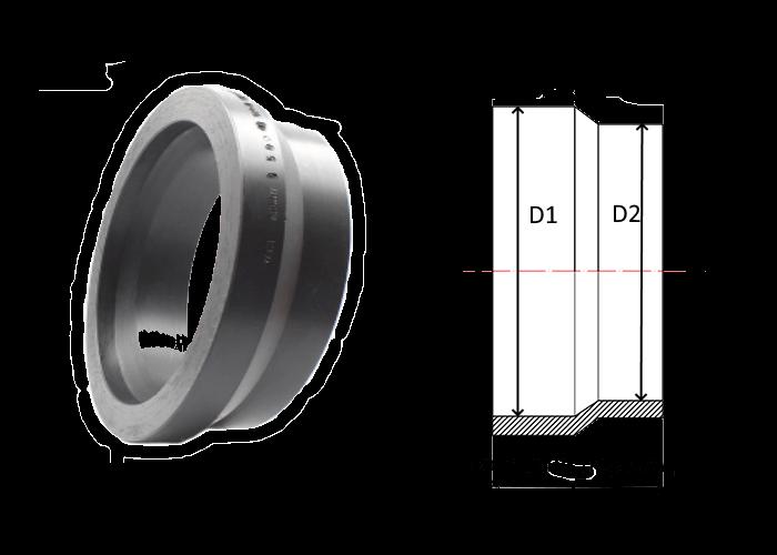 переходы короткие литые ПЭ 100 SDR 11 диаметры 280х250